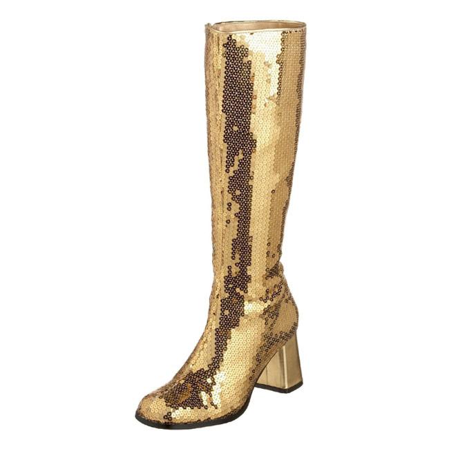 SPECTACUL-300SQ botas de mujer oro talla 35 - 36